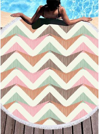 Retro /Vendimia/impresión geométrica moda/Boho toalla de playa