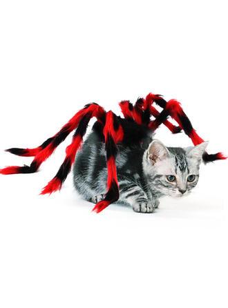 Horripilante Halloween Araña felpa Disfraces para mascotas