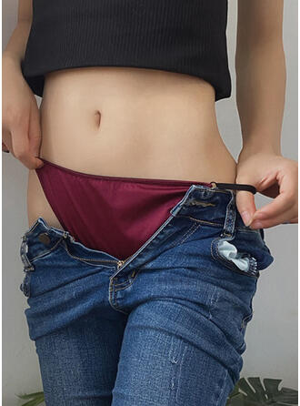 Lace Plain Thong Panty