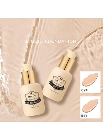 2-color Classic Plastic Liquid Foundation With Box