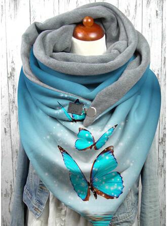 Animal/Print fashion/Warm/Butterfly Design Scarf