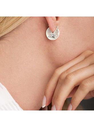Chic Boho Alloy Women's Earrings