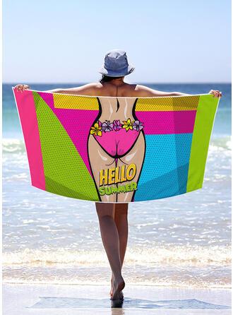 Bohemia/carta/Colorido Ligero/Multifuncional/Libre de arena/Secado rápido toalla de playa