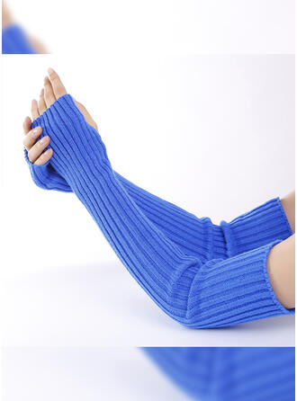 Solid Color/Crochet fashion/simple/Comfortable Gloves
