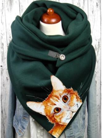 Animal Print Warm/Soft Scarf