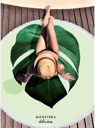 Estilo rústico atractivo toalla de playa