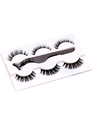 3-pairs Sexy Alluring Mink Lashes With Box
