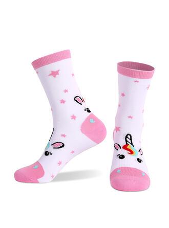 Letter/Print Comfortable/Multi-color/Women's/Crew Socks Socks