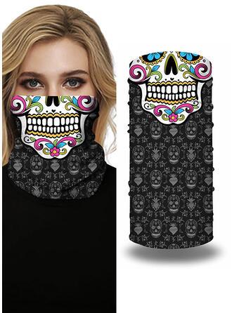 Cobertura completa/Multifuncional/Sin Costura/A prueba de polvo/Halloween Bandanas
