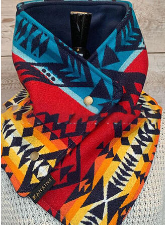 Geometric Print Neck/Light Weight/fashion Scarf