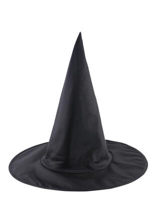 gótico Halloween Bruja Tela Oxford Accesorios de Halloween Sombreros de bruja