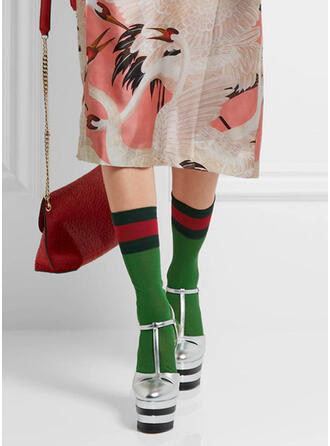Striped Warm/Breathable/Women's/Crew Socks Socks