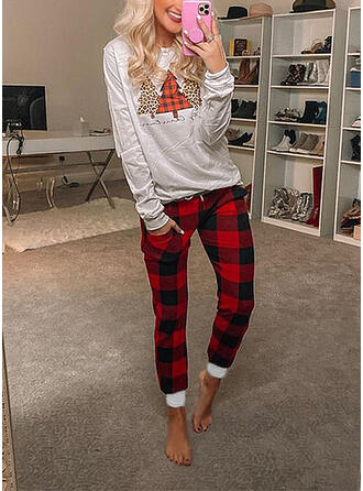 Cotton Long Sleeves Christmas Pyjama Set