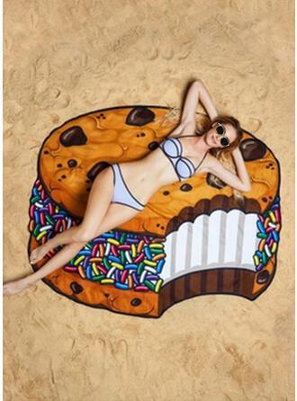 comida Ligero/atractivo/Multifuncional/Libre de arena/Secado rápido toalla de playa