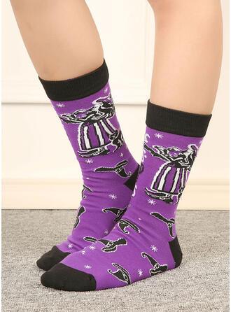 Letter/Stitching/Print Comfortable/Women's/Crew Socks Socks