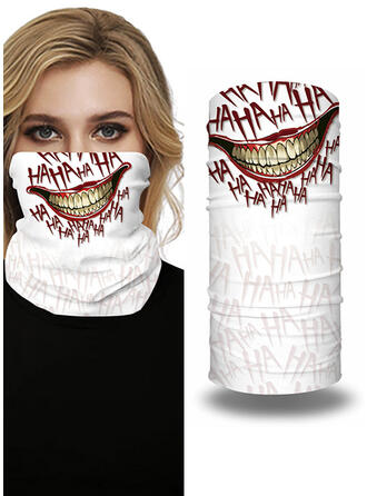 Respirable/Protector/Cobertura completa/Multifuncional/Sin Costura/A prueba de polvo/Halloween Bandanas