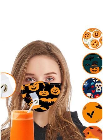 Respirable/Protector/Cómodo/Reutilizable/Halloween/Palo en forma/Agradable Para La Piel/Lavable Máscaras faciales
