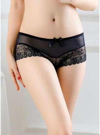 Lace Brief Boyshort Panty