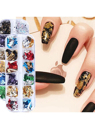 8 PCS Random Color Simple Classic Nail Art Sticker Nail Art Decoration