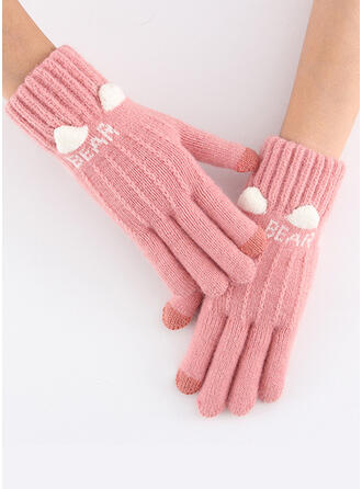 Solid Color/Animal/Graphic Prints Protective/Animal Designed/Women's Gloves