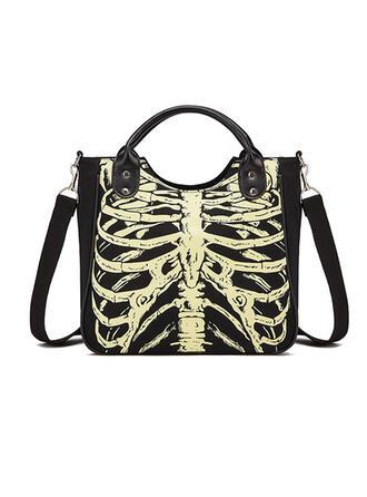 Atractivo/Halloween/Horripilante/Esqueleto/Luminosa Bolsas de mano/Bolsos cruzados