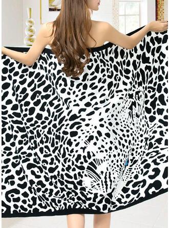 Borla/Bohemia de gran tamaño/Multifuncional/Libre de arena/Secado rápido/Diseñado animales toalla de playa