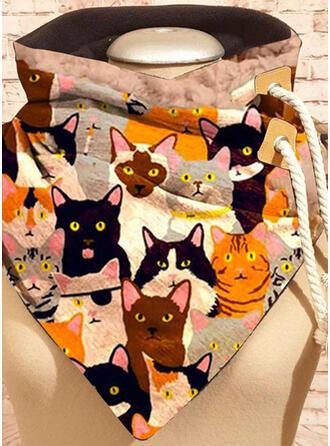 Animal/Colorful fashion/Animal Designed/Black Cat Scarf