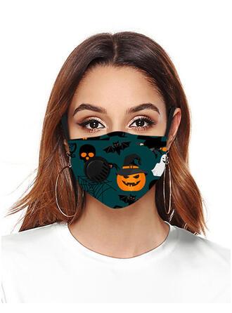 Respirable/Protector/Cómodo/Reutilizable/Halloween/Calabaza/Agradable Para La Piel/Lavable Máscaras faciales