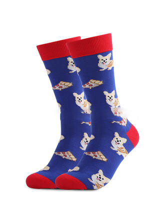 Animal/Print fashion/Breathable/Crew Socks/Unisex Socks